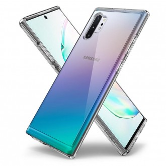 "Skaidrus dėklas Samsung Galaxy Note 10 Plus telefonui ""SPIGEN ULTRA HYBRID Crystal"""