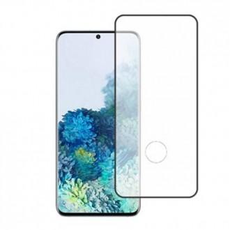 Apsauginis grūdintas stiklas ''9D Full Glue '' Samsung Galaxy G981 S20 telefonui