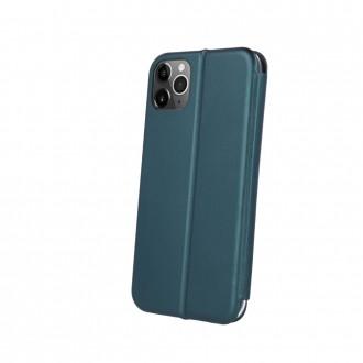 Tamsiai žalias atverčiamas dėklas ''Book Elegance'' telefonui Xiaomi Redmi 9