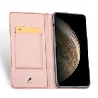 Rožinis - auksinis Dux Ducis dėklas ''Skin Pro'' telefonui Huawei P Smart 2021