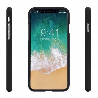 """Juodas silikoninis dėklas """"Jelly Case'' telefonui iPhone 13 Pro"""
