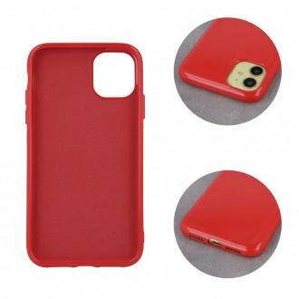 """Raudonas silikoninis dėklas """"Jelly Case'' telefonui iPhone 13"""