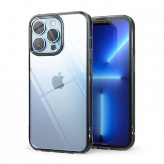 """Skaidrus dėklas """"Ringke Fusion Smoke Black"""" telefonui iPhone 13 mini"""
