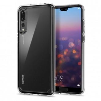"Skaidrus dėklas Huawei P20 PRO / P20 PLUS telefonui ""Spigen Liquid Crystal"""