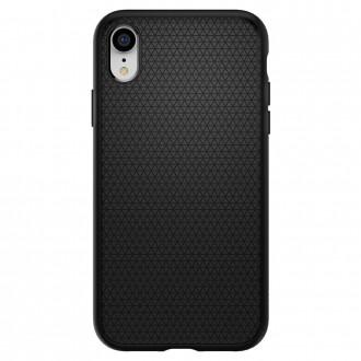 "Juodas dėklas Apple Iphone XR telefonui ""Spigen Liquid Air"""