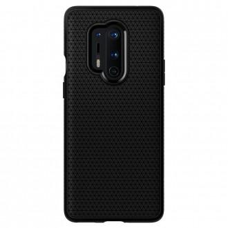 """Juodas dėklas OnePlus 8 Pro telefonui """"Spigen Liquid Air"""""""