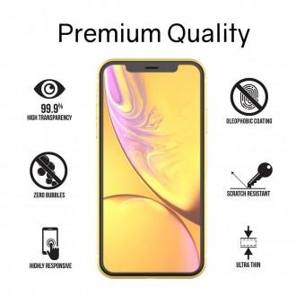 """Skaidrus apsauginis grūdintas stiklas Apple Iphone 7 / 8 / SE 2020 telefonui """"WHITESTONE DOME"""""""
