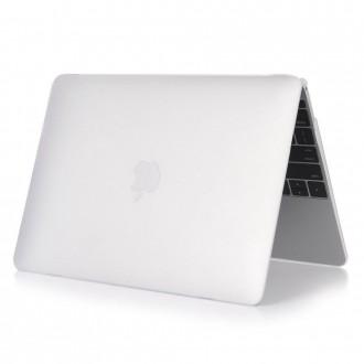 Dėklas nešiojamo kompiuterio MACBOOK AIR 13 -TECH-PROTECT SMARTSHELL MATTE CLEAR-