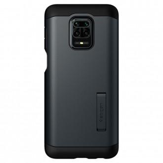 "Juodas dėklas Xiaomi Redmi Note 9s / 9 Pro / 9 Pro Max telefonui ""Spigen Tough Armor"""