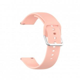 """Rausva apyrankė laikrodžiui Samsung Watch 3 (41MM) """"Tech-Protect Iconband"""""""
