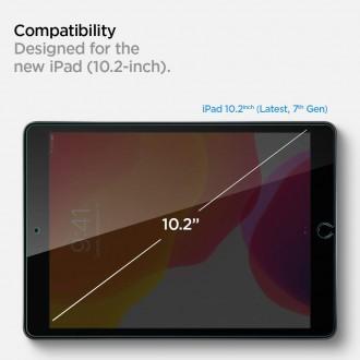 """Skaidrus apsauginis grūdintas stiklas iPad 7/8 10.2 2019/2020 """"Spigen Glas.Tr Slim"""""""