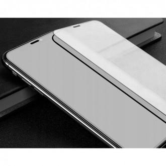"""Juodas apsauginis grūdintas """"Mocolo"""" stiklas Samsung Galaxy A51 5G telefonui"""