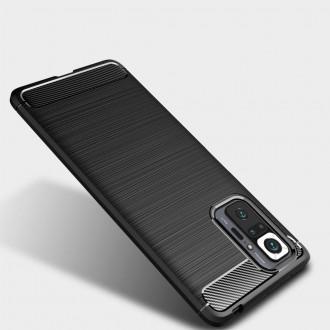 Juodas TECH-PROTECT dėkliukas telefonui Xiaomi Redmi Note 10 PRO