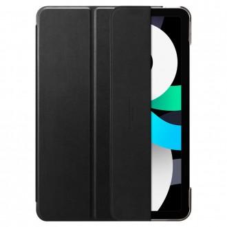 """Juodas atverčiamas dėklas iPad Air 4 2020 """"SPIGEN SMART FOLD"""""""