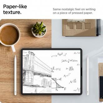"Apsauginė plėvelė ""SPIGEN PAPER TOUCH 2vnt"" iPad Pro 12.9  2020/2021"