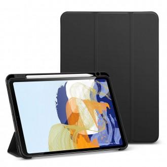 """Juodas, atverčiamas dėklas """"ESR REBOUND PENCIL"""" iPad Pro 11 2021"""