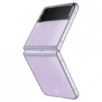 """Kristalų skaidrumo permatomas dėklas """"Spigen Airskin"""" GALAXY Z FLIP 3 telefonui"""