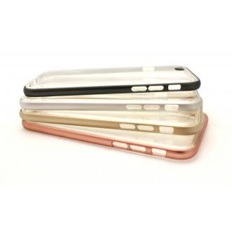 """Dėklas """"Select Metal Bumper"""" + TPU Samsung G920 S6 juodas"""