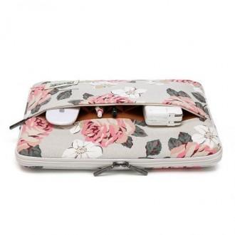 Nešiojamo kompiuterio krepšys  15'' - 16'' WHITE ROSE