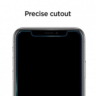 "Skaidrus apsauginis grūdintas stiklas Apple Iphone X / XS / 11 Pro telefonui ""Spigen Glas.Tr"""