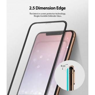 """Juodas apsauginis grūdintas stiklas Apple Iphone X / XS/ 11 Pro telefonui """"Ringke ID Diamond"""""""