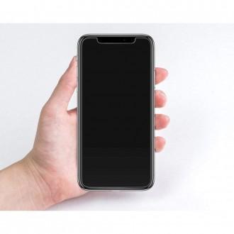 "Skaidrus apsauginis grūdintas stiklas Apple Iphone 11 Pro Max telefonui ""Spigen Glas.Tr Slim"""