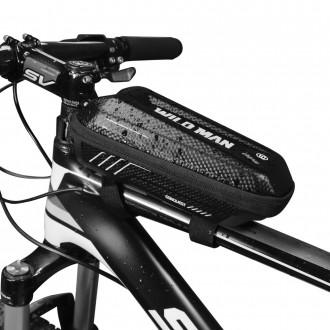 """WildMan"""" vandeniui atsparus dviračio krepšys """"E5S"""""""