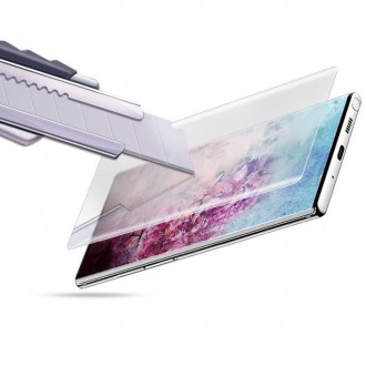 """Skaidrus apsauginis grūdintas stiklas Xiaomi Mi Note 10 Lite telefonui """"Mocolo UV Glass"""""""