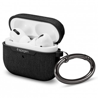 Juodas dėklas dėklas APPLE AIRPODS Pro ''SPIGEN URBAN FIT''