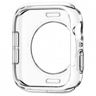"""Skaidrus dėklas laikrodžiui Apple Watch 4/5/6/SE (40MM) """"Spigen Liquid Crystal"""""""