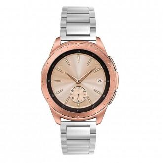 """Sidabrinė apyrankė laikrodžiui Samsung Galaxy Watch 46MM """"Tech-Protect Stainless"""""""