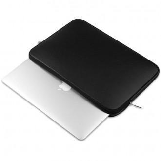 Nešiojamo kompiuterio krepšys 15'' - 16''   -TECH-PROTECT NEOSKIN BLACK-