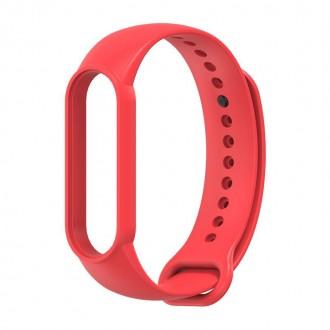 """Raudona apyrankė laikrodžiui Xiaomi Mi Smart Band 5/6 """"Tech-Protect Iconband"""""""
