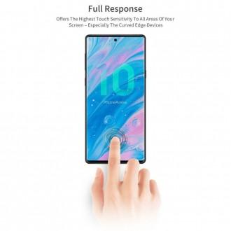 """Skaidrus apsauginis grūdintas stiklas """"T-Max UV Glass"""" Samsung Galaxy Note 20 Ultra telefonui"""