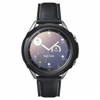 """Juodas dėklas laikrodžiui Samsung Galaxy Watch 3 (41MM) """"Spigen liquid air"""""""