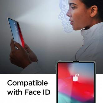 """Skaidrus apsauginis grūdintas stiklas iPad Pro 12.9 2020/2021 """"Spigen Glas.Tr Slim"""""""