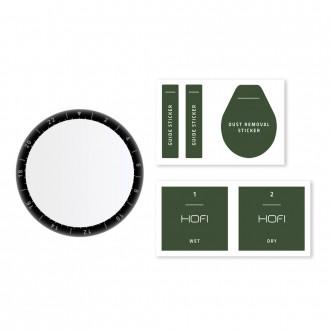 Juodas apsauginis stiklas Huawei Watch 3 Pro (48 mm) laikrodžiui ''HOFI Hybrid''