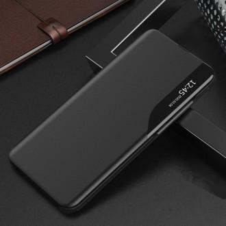 """Atverčiamas dėklas """"Tech-Protect Smart View"""" XIAOMI POCO M3 PRO 5G / REDMI NOTE 10 5G juodas"""