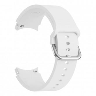 """Balta apyrankė laikrodžiui Samsung Watch 4 (40/42/44/46 MM) """"Tech-Protect Iconband"""""""