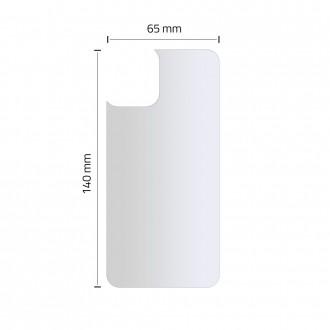 Nugarėlės apsauginis stikliukas Apple IPHONE 11 HOFI HYBRID PRO+ BACK PROTECTOR