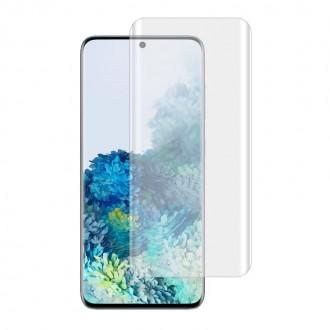 """Skaidrus apsauginis grūdintas stiklas """"T-Max UV Glass"""" Samsung Galaxy S20 Plus telefonui"""