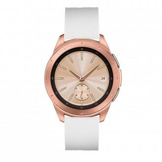 """Balta apyrankė laikrodžiui Samsung Watch 42MM """"Tech-Protect Smoothband"""""""