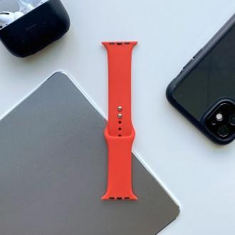 """Raudona apyrankė laikrodžiui Apple Watch 1/2/3/4/5/6 (42-44MM) """"Tech-Protect Iconband"""""""