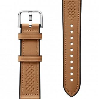 "Ruda apyrankė Samsung Galaxy Watch 4 (40/42/44/46MM) laikrodžiui ""Spigen Retro Fit Band"""