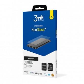 """LCD apsauginis stikliukas juodais krašteliais """"3MK Neo Glass"""" telefonui Apple iPhone 13 Pro Max"""
