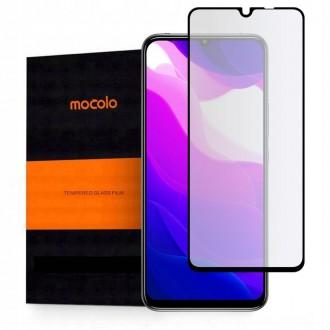 """Juodas apsauginis grūdintas """"Mocolo"""" stiklas Xiaomi Mi 10 Lite telefonui"""