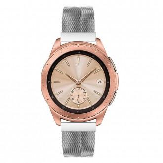 """Sidabrinė apyrankė laikrodžiui Samsung Galaxy Watch 46MM """"Tech-Protect Milaneseband"""""""