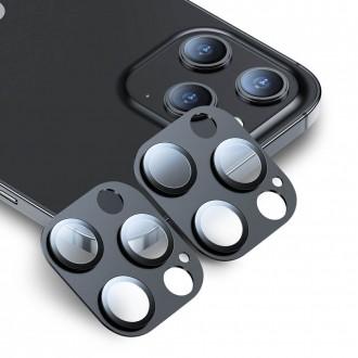 """Apsauginis grūdintas stiklas iPhone 12 Pro telefono kamerai apsaugoti """"ESR CAMERA LENS"""" 2vnt."""