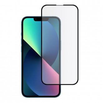 Apsauginis, juodais krašteliais grūdintas stiklas HOFI HYBRID PRO+  telefonui iPhone 13 mini