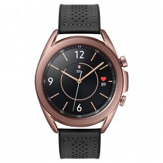 "Juoda apyrankė Samsung Galaxy Watch 4 (40/42/44/46MM) laikrodžiui ""Spigen Retro Fit Band"""